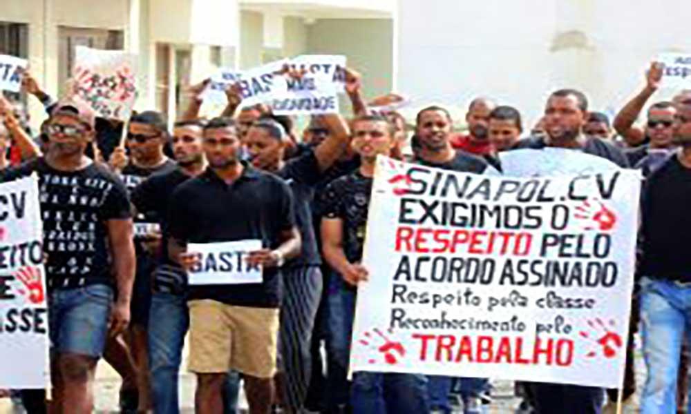 Sindicato Nacional da Polícia anuncia greve de seis dias para finais deste mês