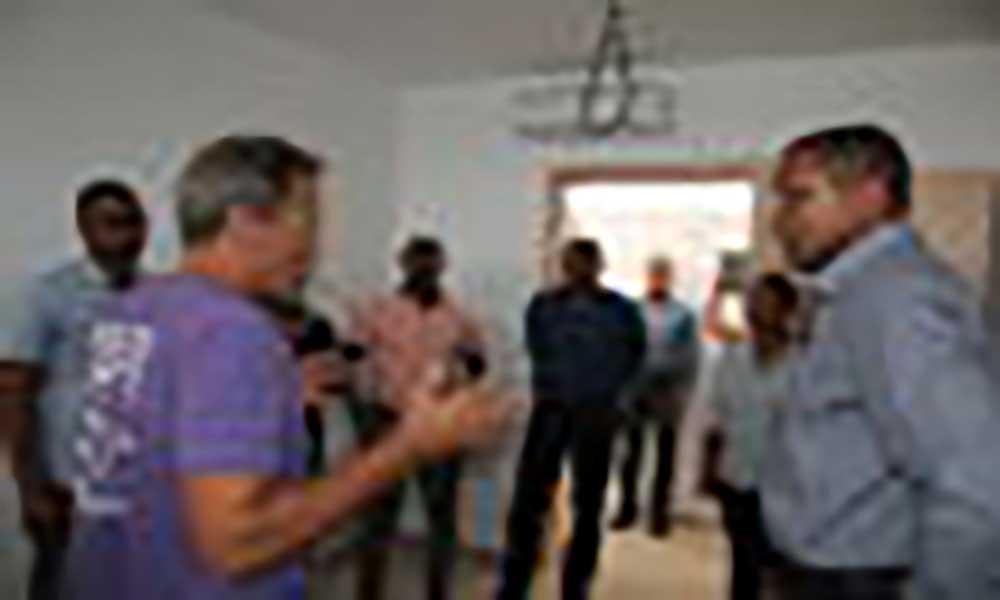 Boa Vista: Equipa camarária visita obras de construção do Centro de abrigo para animais