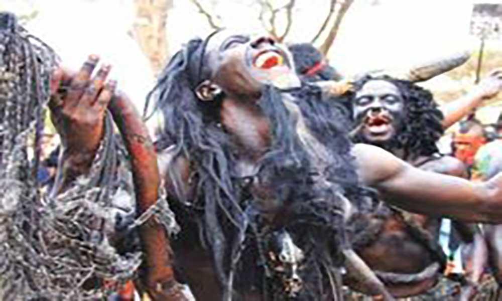 Mandingas anunciam Carnaval