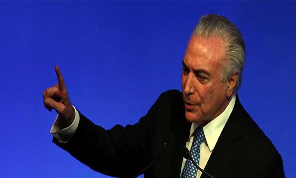 Presidentes do Brasil e Argentina discursam no Fórum Económico Mundial