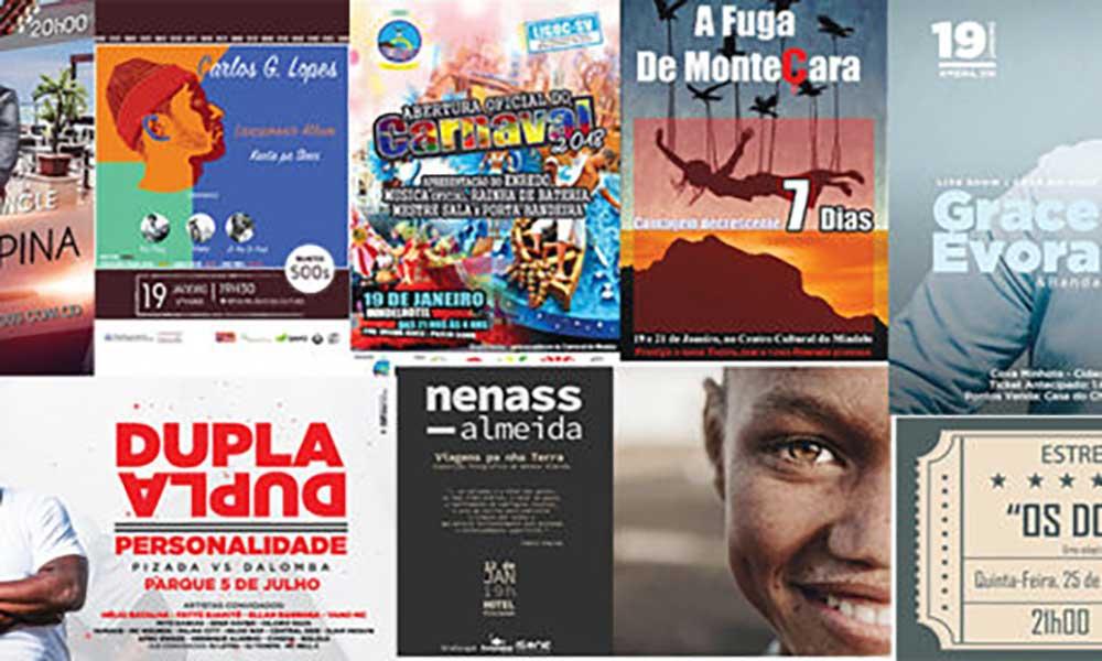 Agenda cultural de 19 a 25 de Janeiro de 2018