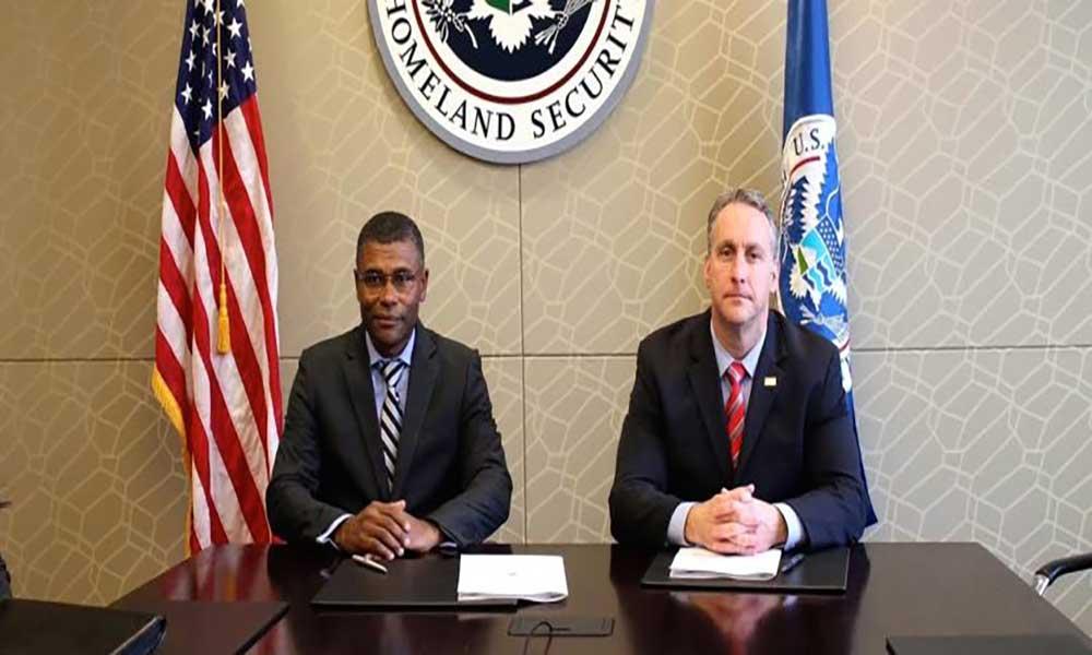 PJ assina memorando de cooperação com o Departamento Americano de Segurança Interna