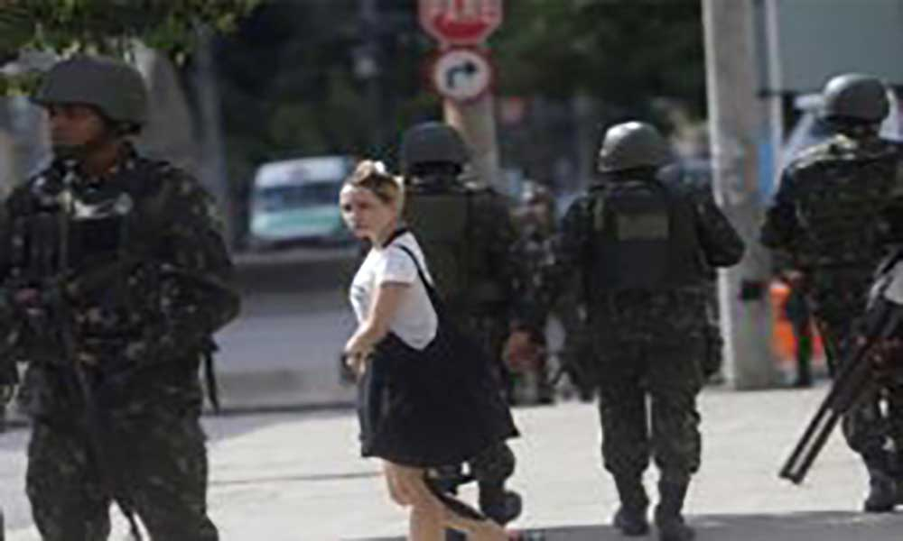 Brasil: Exército vai assumir segurança do Rio de Janeiro