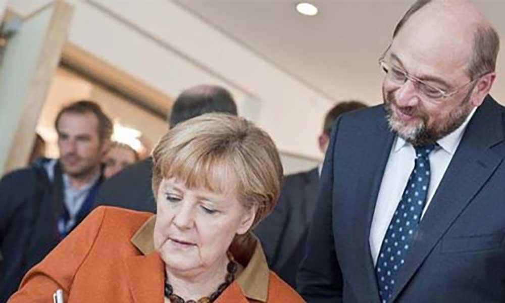Alemanha: Merkel e Schulz chegam a acordo para novo governo