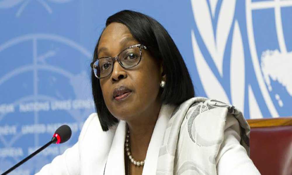 Mensagem da Dr.ª , Directora Regional da OMS para a Região Africana por ocasião do Dia Mundial do Doador de Sangue, 14 de Junho de 2018