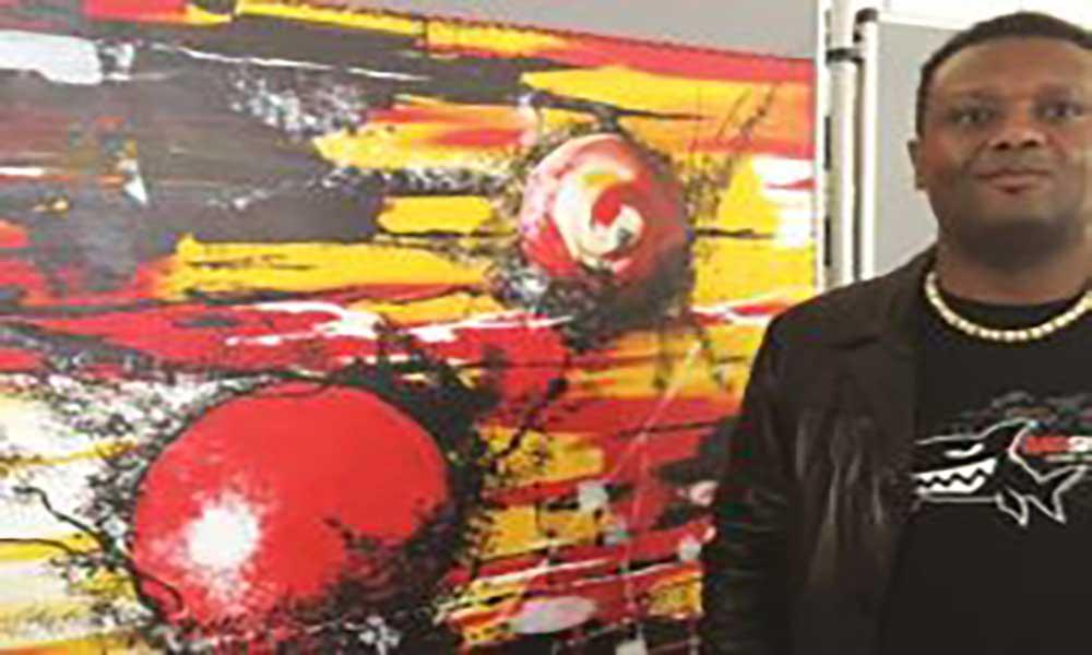 Artes Plásticas: Nelson Neves comemora 17 anos de carreira com mega-exposição em Cabo Verde