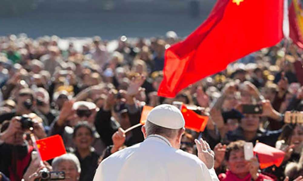 China trabalha com o Vaticano para melhorar relações
