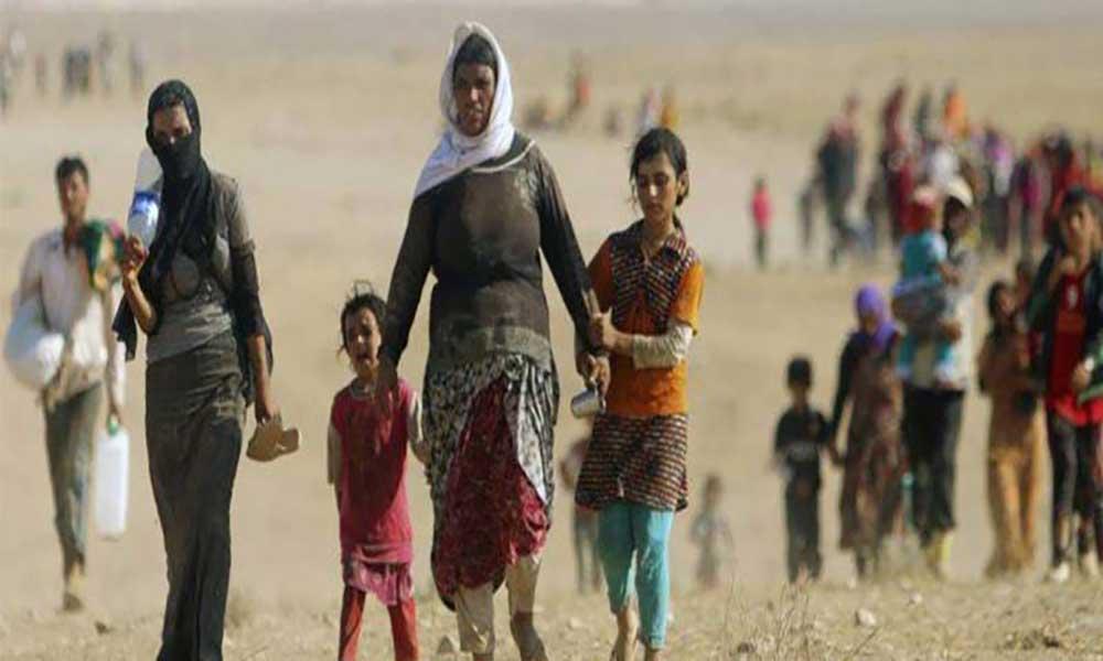 """Vítimas de escravatura sexual no Iraque parecem """"cadáveres vivos"""""""