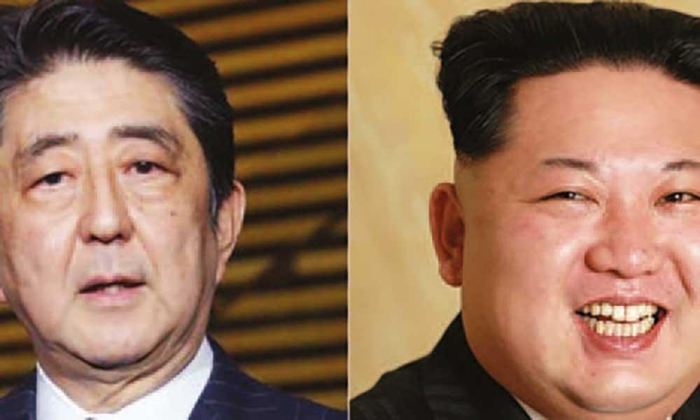 Japão propõe encontro à Coreia do Norte