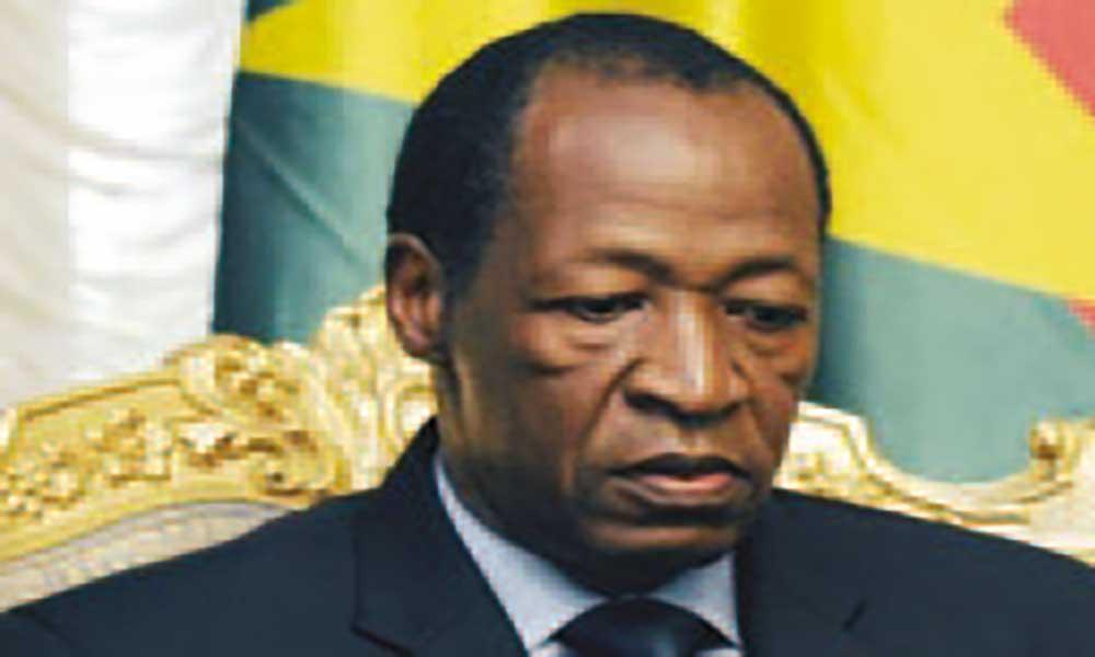 Mali: Congresso do Partido de Blaise Compaoré em Maio