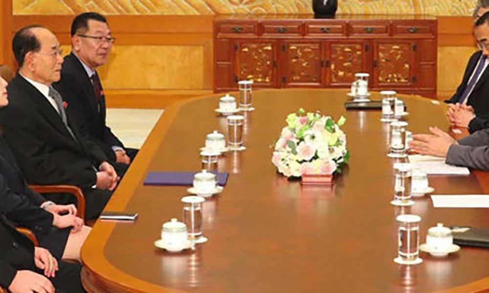 Pyongyang de acordo com conversações inter-coreanas em Abril