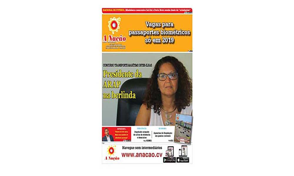 Destaques da edição 554 do Jornal A NAÇÃO