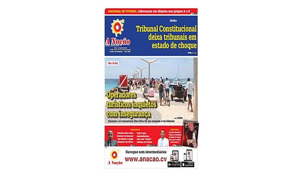 Destaques da edição 555 do Jornal A NAÇÃO