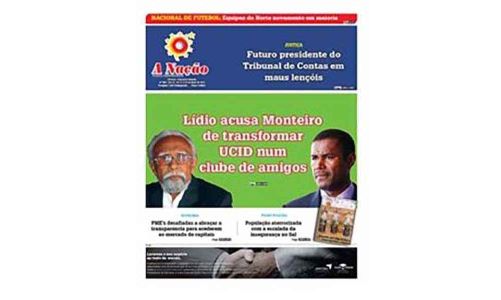 Destaques da edição 559  do Jornal A NAÇÃO