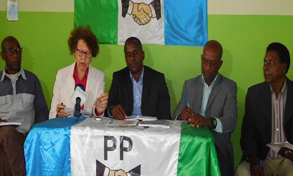 """Direcção do PP """"insatisfeita"""" com a forma como o Executivo do MpD tem liderado o país"""