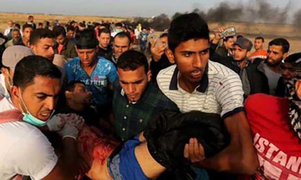 Violência faz 13 mil feridos palestinianos