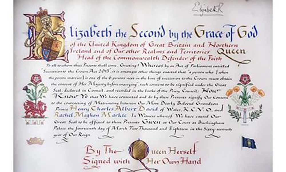 Reino Unido: Rainha Elizabeth II autoriza casamento de Harry e Meghan