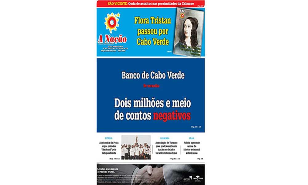 Destaques edição nº562 Jornal A NAÇÃO