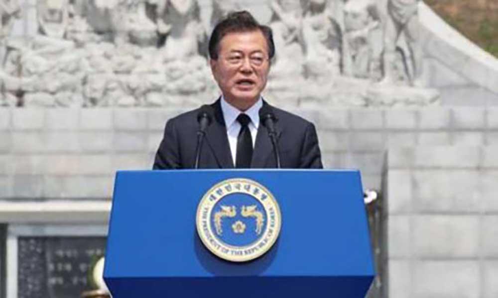 Coreia do Sul: Presidente admite suspensão de exercícios militares