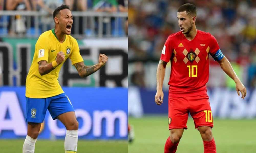Mundial 2018: Brasil e Bélgica buscam vaga nas meias-finais; França encara o Uruguai