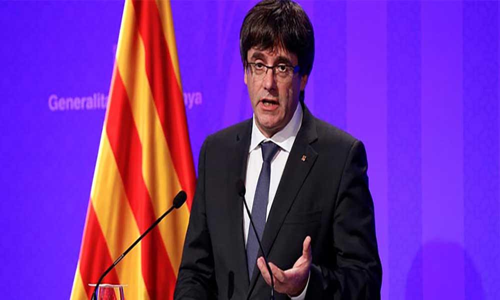 Espanha: Líder da Catalunha garante que nunca renunciará à independência