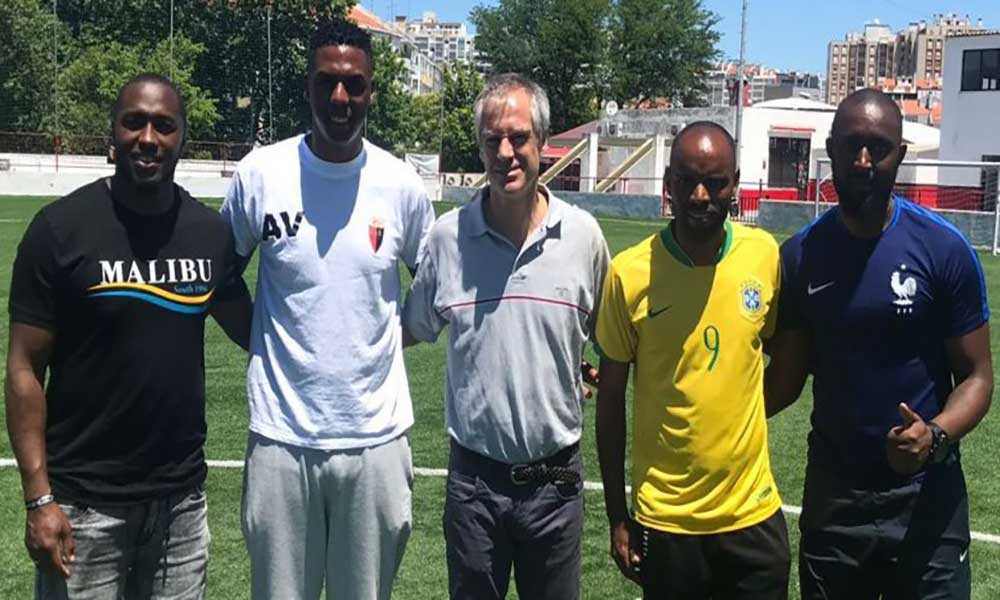 Futebol: Antigo internacional cabo-verdiano, Dady, homenageado em Portugal