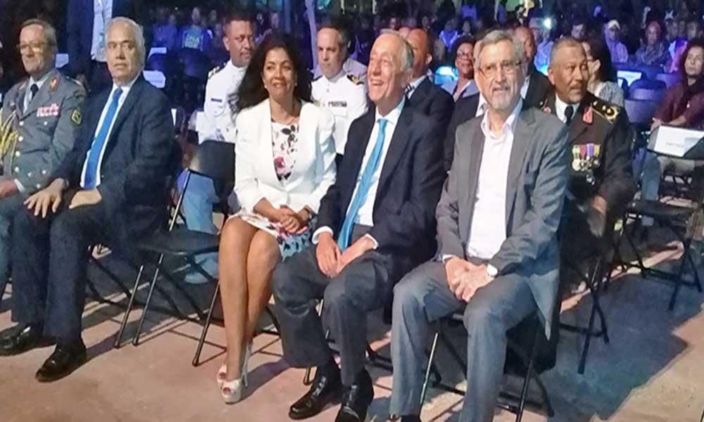 """Cimeira CPLP: """"O futuro é o mais importante na CPLP e está aqui a recomeçar em Cabo Verde"""", Presidente de Portugal"""