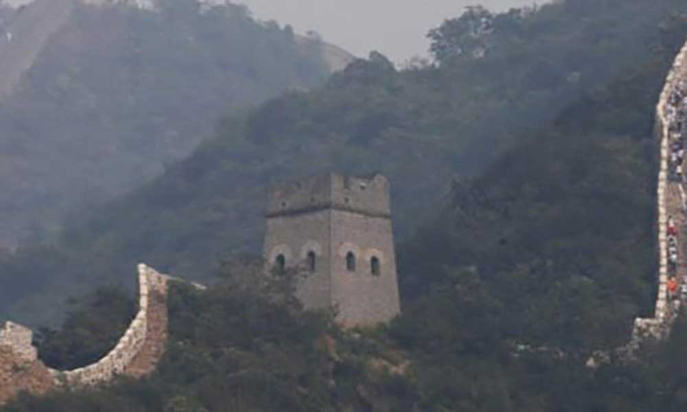 China: Parte da Grande Muralha fechada por chuvas torrenciais
