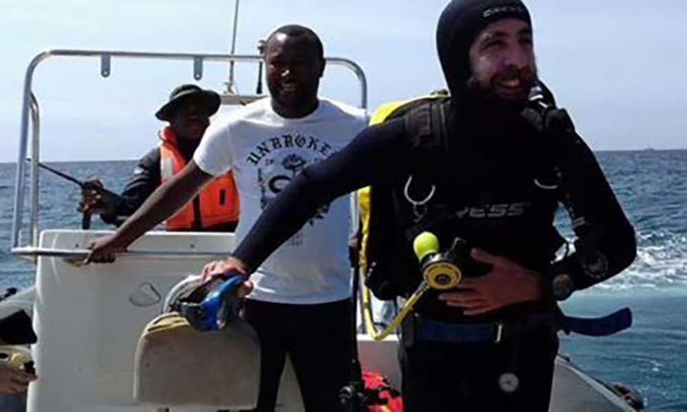 Investigadores encantados com vestígios de embarcação do século XVII nas águas de Cabo Verde