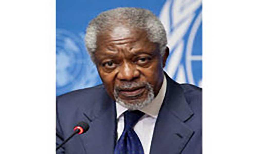 Morreu o antigo secretário-geral das Nações Unidas, Kofi Annan
