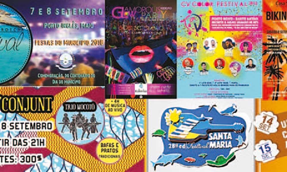 Agenda cultural de 07 a 13 de Setembro de 2018