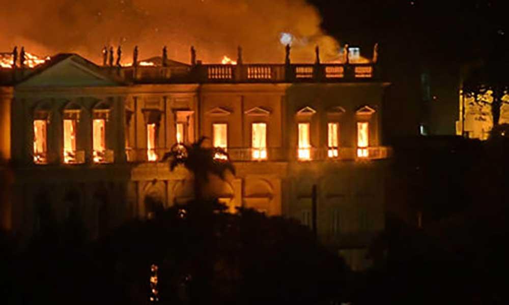 Brasil: Museu Nacional do Rio de Janeiro tinha 20 milhões de peças