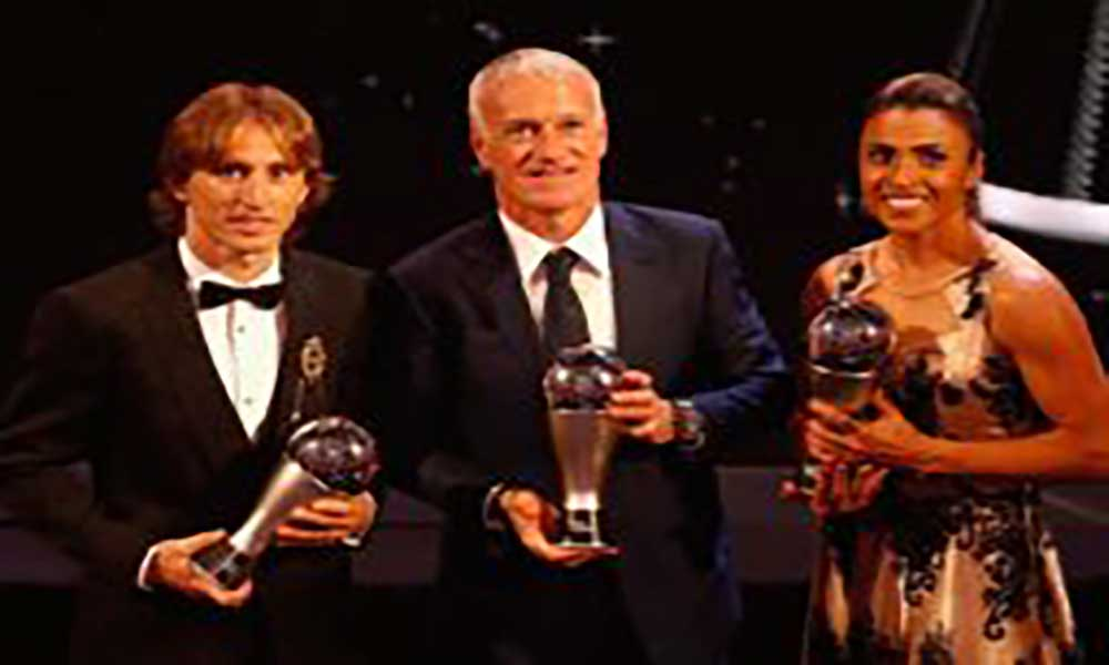 Futebol: Luka Modric interrompe hegemonia de Ronaldo e Messi
