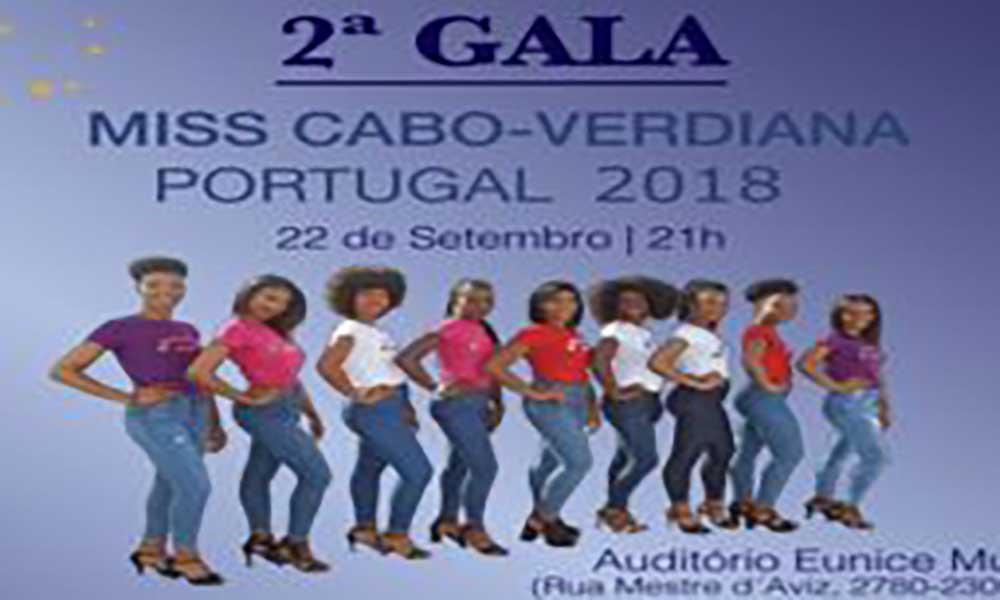 Miss Cabo-verdiana Portugal 2018 é escolhida este sábado no Auditório de Oeiras