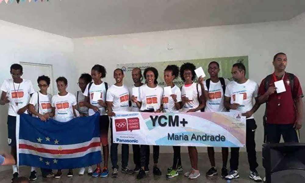 São Vicente: Atleta Maria Andrade incentiva jovens a integrarem a prática desportiva
