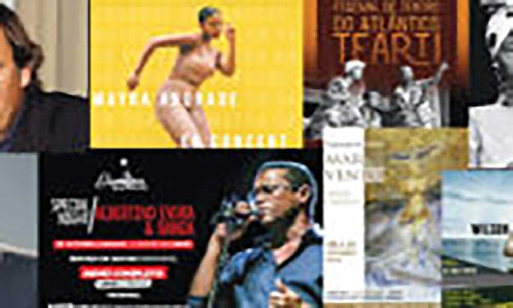 Agenda cultural de 19 a 25 de Outubro de 2018