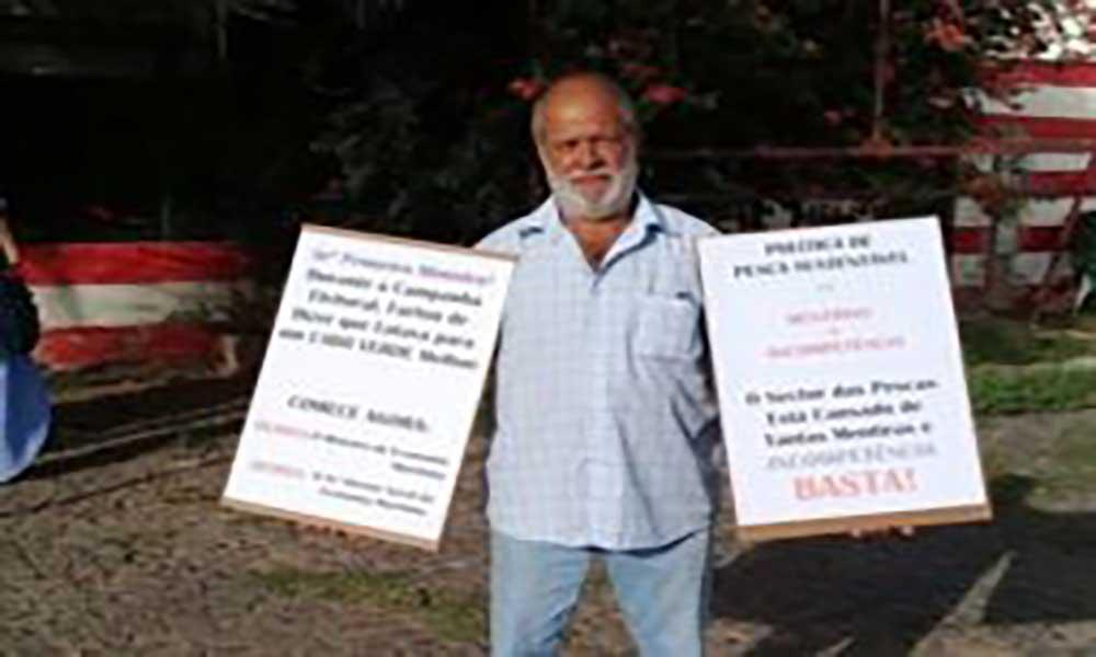 São Vicente: Ambientalista manifesta-se contra política governamental para as pescas às portas da Expomar