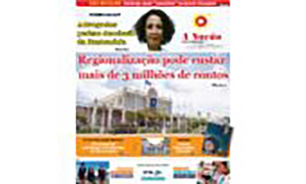 Destaques da edição 584 do Jornal A NAÇÃO