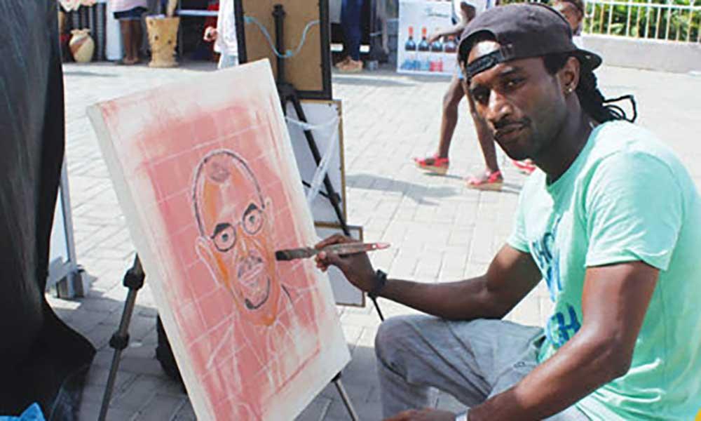 Dionick  Silva tem forte talento paraas artes plásticas