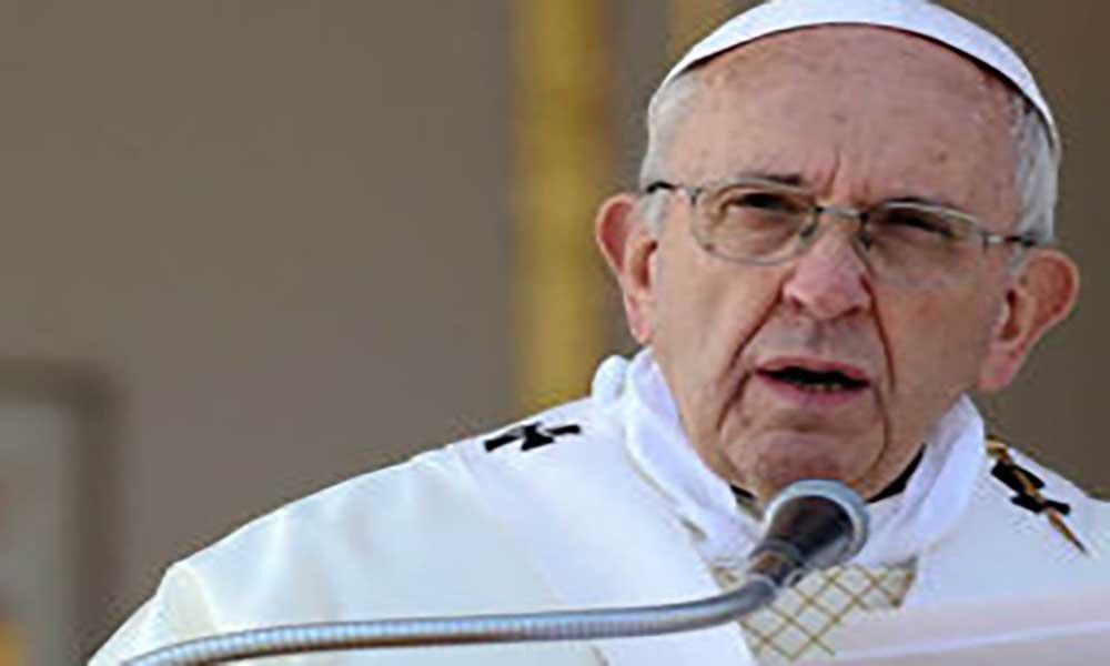 Vaticano: Papa classifica coscuvilhice como acto terrorista