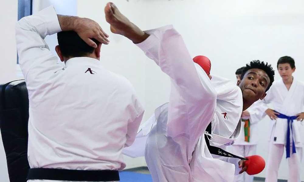 Diáspora: Karateca Jordan Neves sagra-se campeão do Luxemburgo nas categorias Open e -70 kg