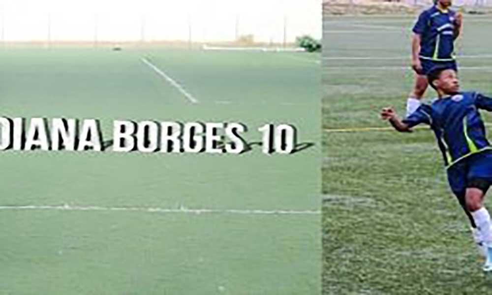 Futebol: Cabo-verdiana Diana Borges marca 10 golos em jogo da segunda divisão feminina portuguesa