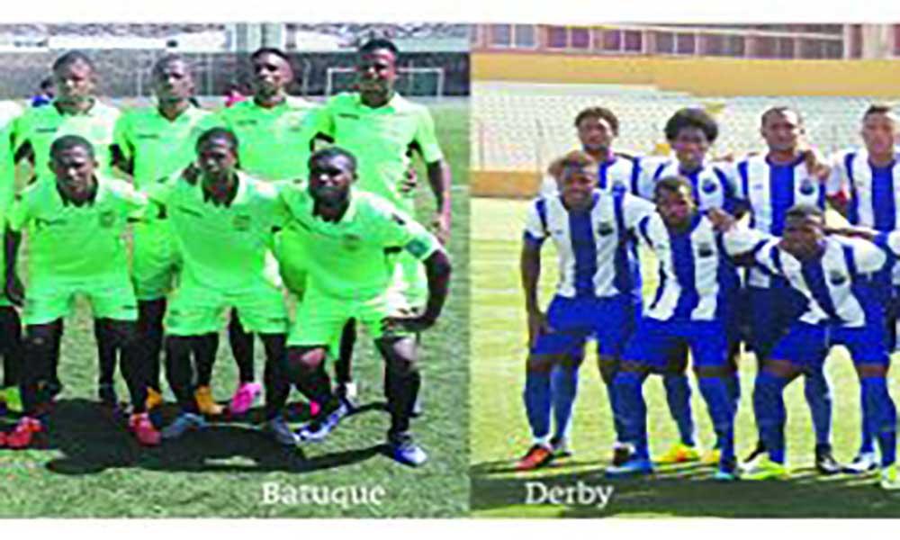 Regional de Futebol em São Vicente: Batuque com teste difícil ante o Derby